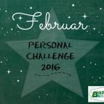 Personal Challenge 2016 – Februar