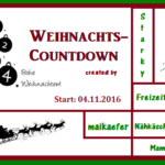 Weihnachtscountdown 2016 – Die Gewinner