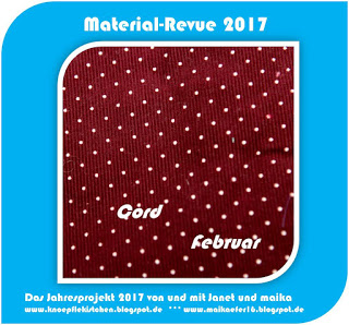 Material-Revue 2017 – Februar