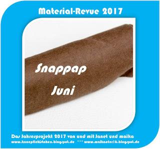 Material-Revue 2017 – Juni