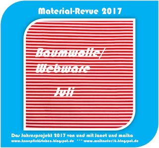 Material-Revue 2017 – Juli